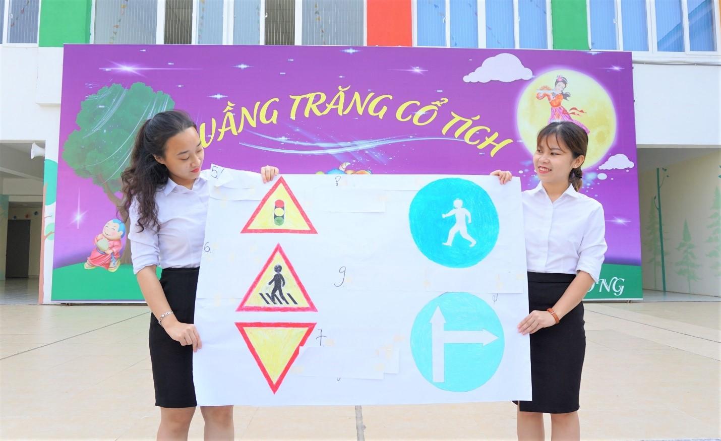 Hưởng ứng tháng ATGT tại Victoria Thăng Long