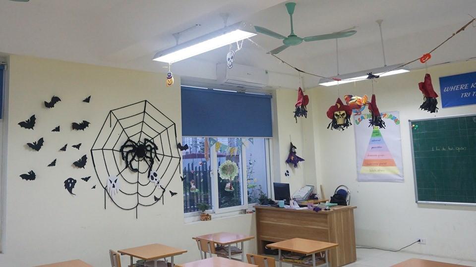 Halloween tại Victoria Thăng Long